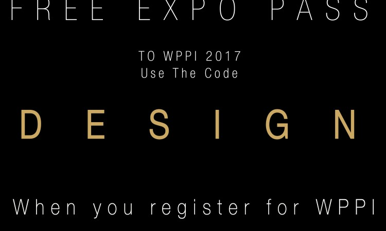 Want a FREE Expo Pass to WPPI? I got you….